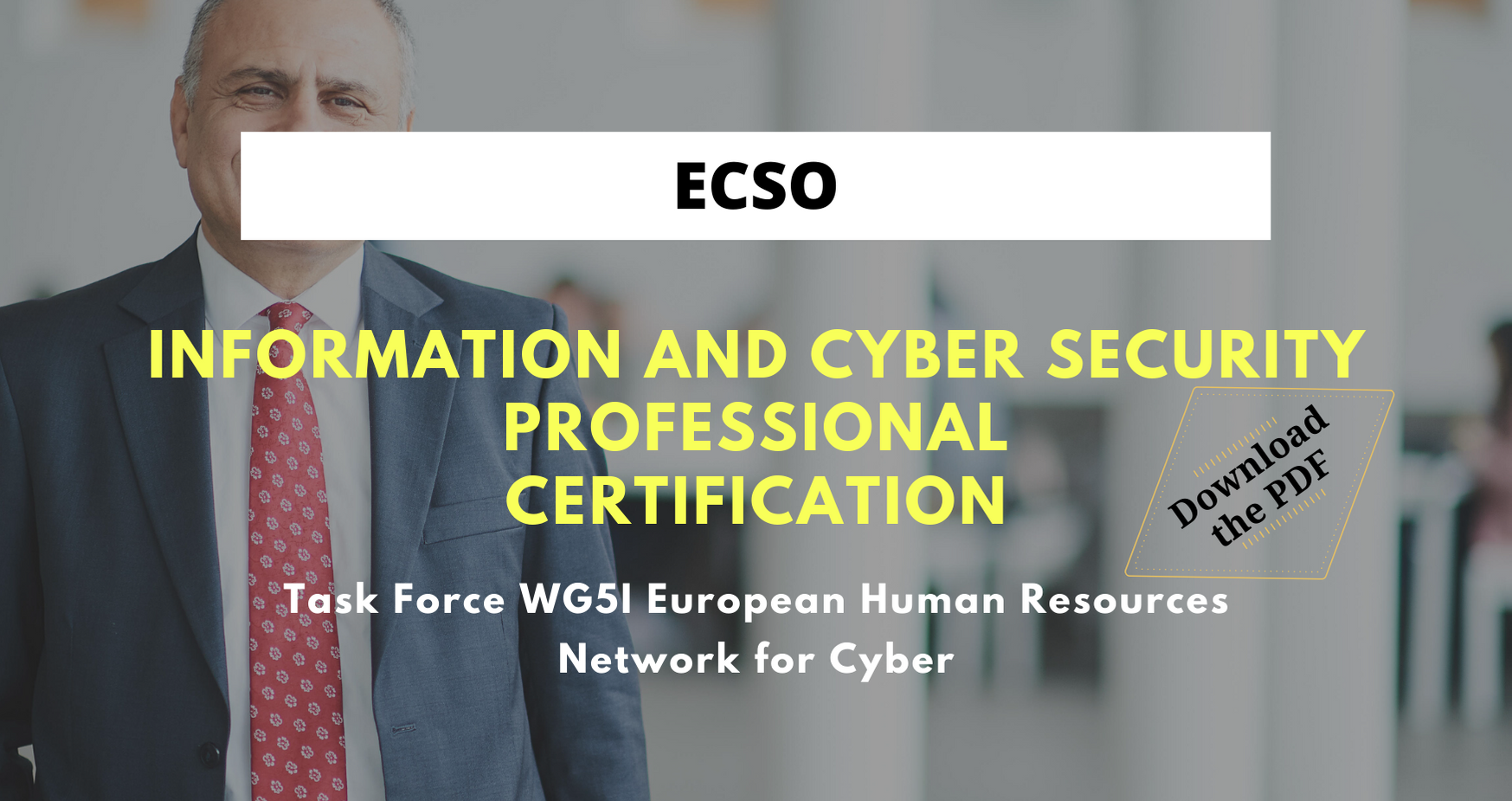 Information and Cyber security professional certification